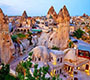 Cappadocia daily and package tour, Cappadocia red tour, Green, yellow Tour